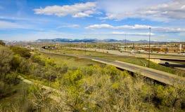 I70 em Denver ocidental Imagem de Stock