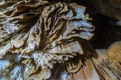 I en grotta Royaltyfri Foto