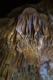I en grotta Fotografering för Bildbyråer
