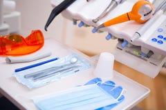 I ett tandläkarekontor Arkivbild