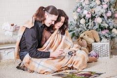 I förväntan av behandla som ett barnhavandeskapet royaltyfri foto