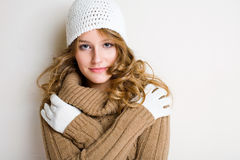I feel cold... Royalty Free Stock Image