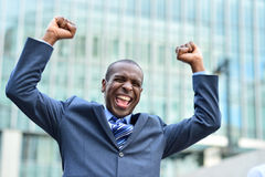 I feel so happy today. Stock Images