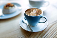 I feel like coffee, let`s take a coffee break Royalty Free Stock Photography