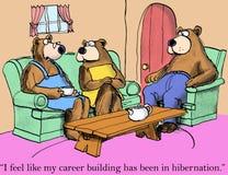 I feel my career building has been in hibernation Stock Photos