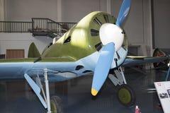 I- 16 - Fighter (1933) 最大 速度, km /h-425 免版税库存照片
