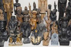I Figurines sono sulla vetrina Immagini Stock Libere da Diritti