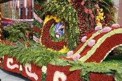 I fiori decorano il galleggiante Fotografia Stock Libera da Diritti