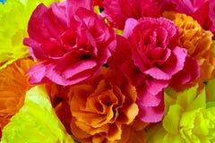 I fiori fatti di carta Fotografie Stock