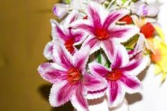 I fiori sono stati fatti del panno immagini stock libere da diritti