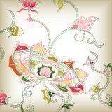 I floreale astratta illustrazione di stock