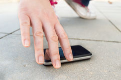 I found a phone Stock Image
