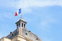 I francesi diminuiscono sulla cupola del Palais du Lussemburgo Fotografie Stock Libere da Diritti