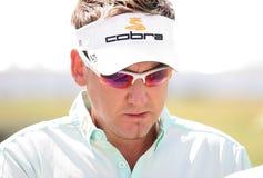 I francesi (inglesi) di golf dello Ian Poulter aprono 2009 Immagini Stock