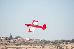 I furgoni RV-8 decolla nei presidenti Trophy Air Race fotografia stock libera da diritti