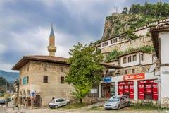 I gatorna av Berat Royaltyfri Fotografi