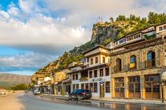 I gatorna av Berat Royaltyfri Bild