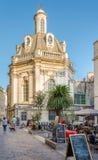 I gatorna av Montpellier Arkivfoton