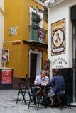 I gatorna av Seville Fotografering för Bildbyråer
