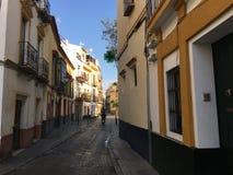 I gatorna av Seville Royaltyfria Bilder