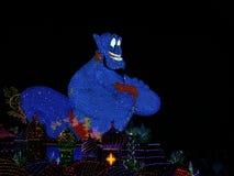I genii nella notte sfilano a Tokyo Disneyland Fotografie Stock Libere da Diritti