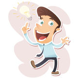 I get an idea!! Stock Images
