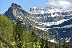 I ghiacciai del Montana Fotografie Stock