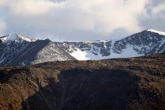 I ghiacciai di Altai Immagine Stock