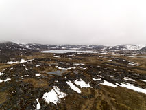 I ghiacciai stanno fondendo in icefjord della Groenlandia Maggio 2016 Immagine Stock