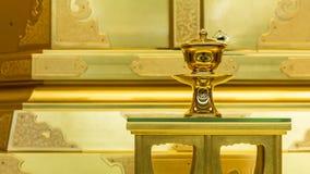 I giapponesi classici progettano la tazza dell'acqua santa Immagine Stock Libera da Diritti