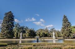 I giardini di Sabatini a Madrid, Spagna Fotografia Stock