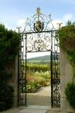 I giardini a Powerscourt, i giardini murati Fotografia Stock