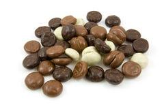 I gingernuts del cioccolato, pepernoten Fotografia Stock