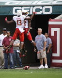 I giocatori del Maryland saltano su Immagine Stock Libera da Diritti