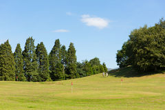I giocatori di golf su Bowness su Windermere Golf il mini distretto del lago Cumbria del campo da golf un'attività turistica popo Fotografie Stock