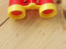 I giocattoli binoculari Fotografie Stock Libere da Diritti