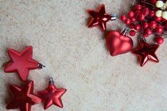 I giocattoli dell'nuovo anno Fotografia Stock