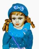 I giocattoli della bambola hanno isolato raccoglibile Fotografia Stock