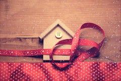 I giocattoli e gli ornamenti del nuovo anno Fotografia Stock Libera da Diritti