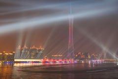 I giochi asiatici Canton 2010 Cina fotografie stock