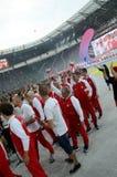 I giochi mondiali 2017 a Wroclaw, Polonia Fotografia Stock