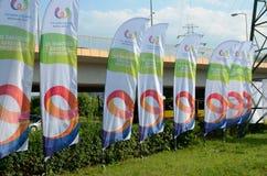 I giochi mondiali 2017 a Wroclaw, Polonia Fotografie Stock Libere da Diritti