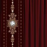 I gioielli dell'oro sopra coprono Fotografia Stock Libera da Diritti