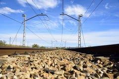 I giri della ferrovia Fotografie Stock Libere da Diritti