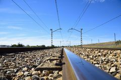 I giri della ferrovia Fotografia Stock