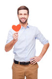 I give you my heart! Royalty Free Stock Photo