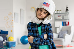I am going to be an astronaut stock photography