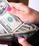 I Got Cash Stock Image