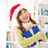 I got my Christmas present Stock Images