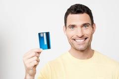 I got my credit card ! stock photos